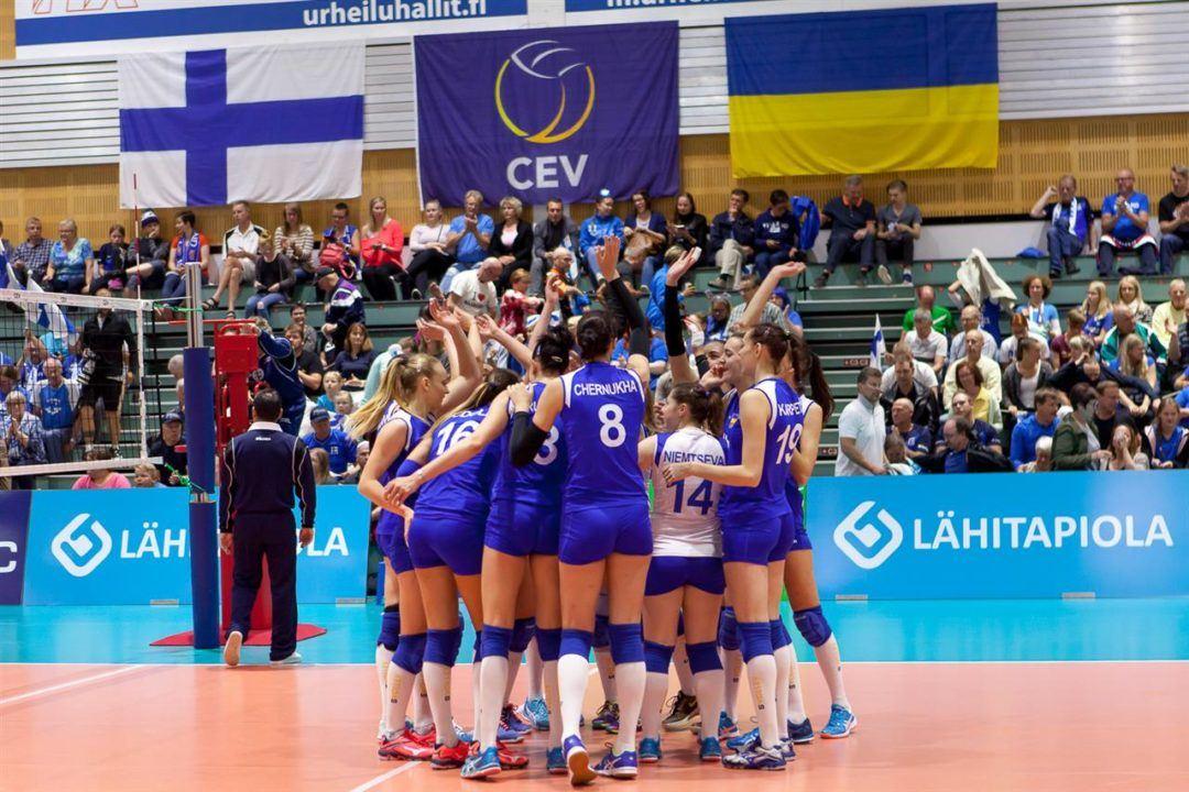 Ukraine Wins Opening Match of Euro League Women's Final