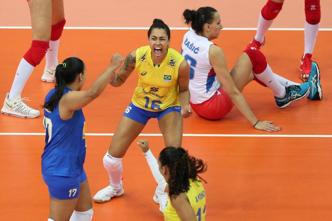 Brazil's Drussyla Suffers Hand Fracture, Ruled Out For The Rest Of VNL