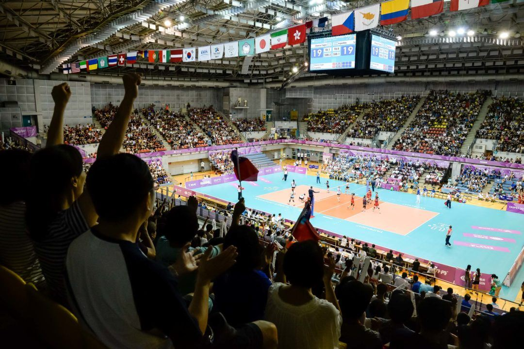 An All-Asian Semifinals in WUGs (Women's)