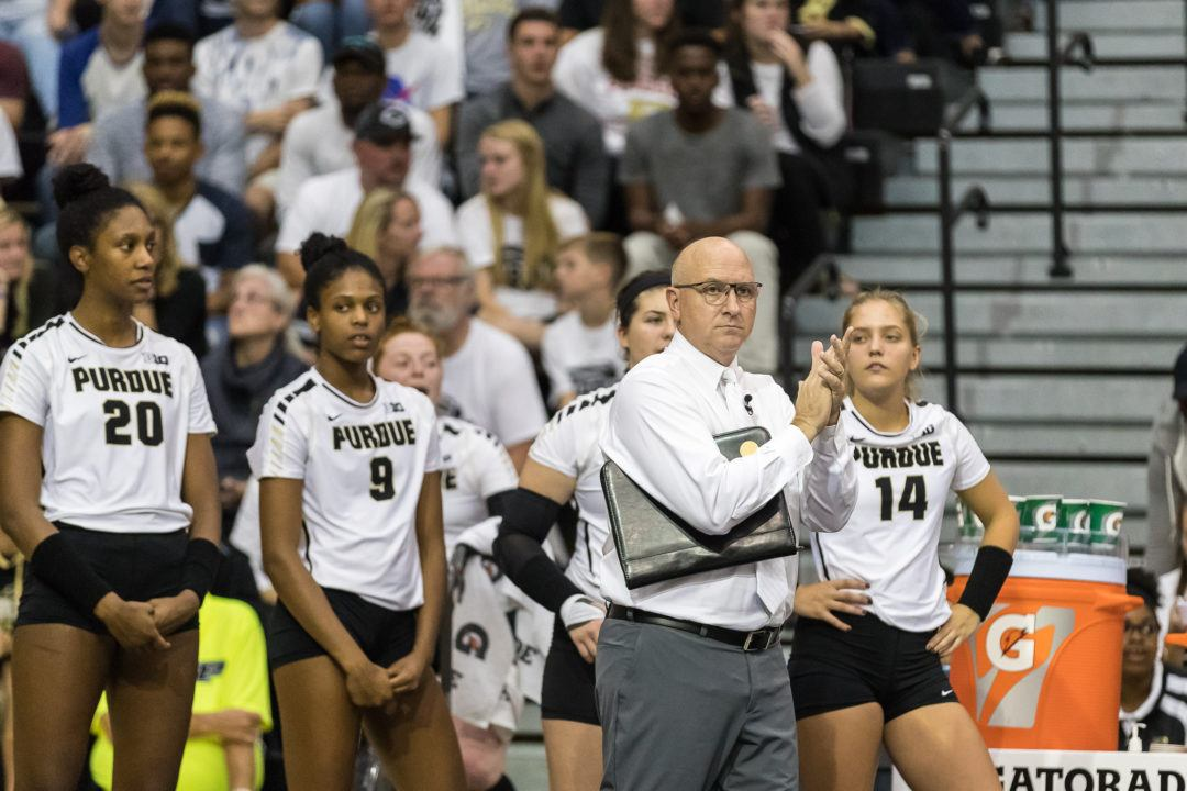 Purdue Volleyball Coach Dave Shondell Gets 6-Year Contract Extension