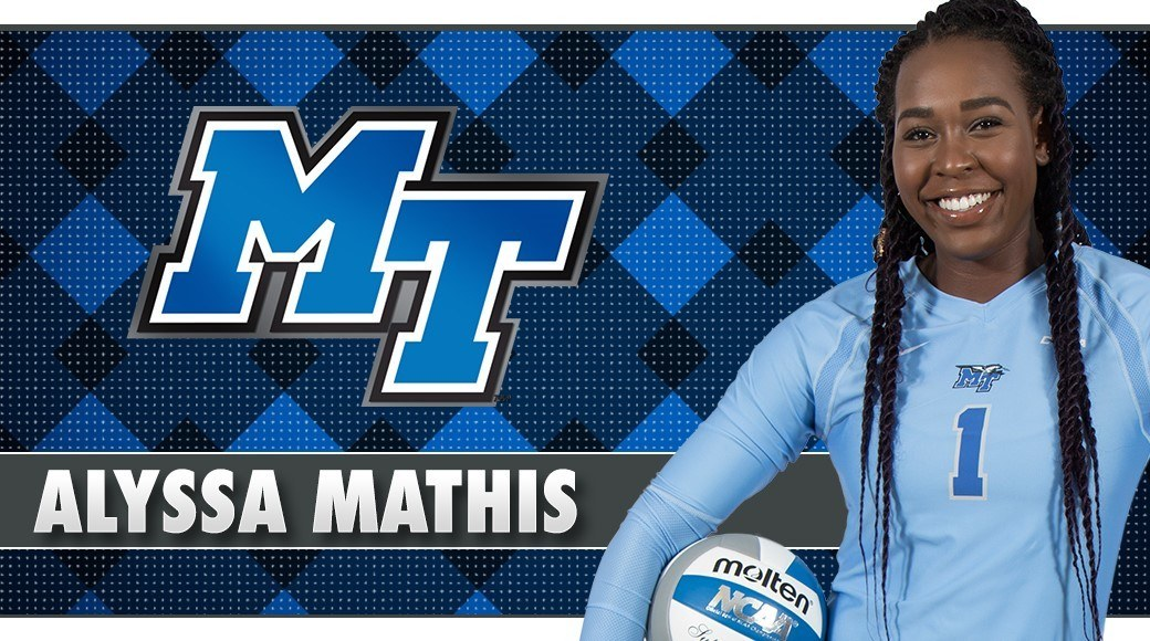 Middle Tennessee Welcomes San Diego State Transfer Alyssa Mathis