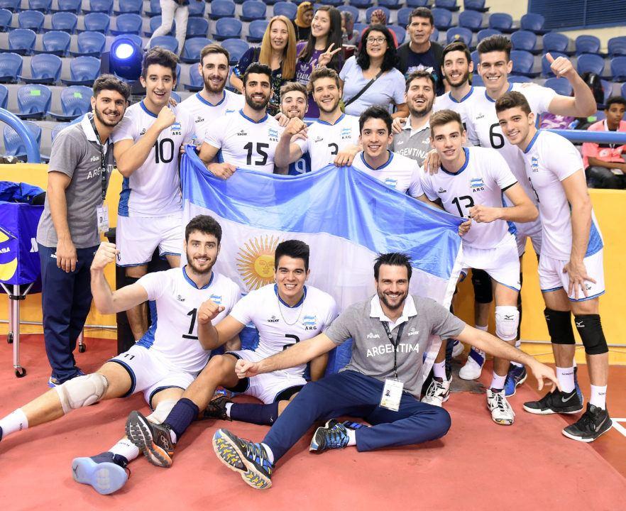 Brazil, Russia, Argentina and Cuba on  Men's U23 Worlds' Final Four