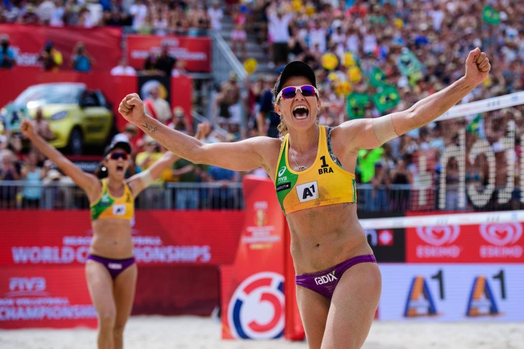 Larissa/Talita, Heather Erickson Nominated for Sportswoman of the Year