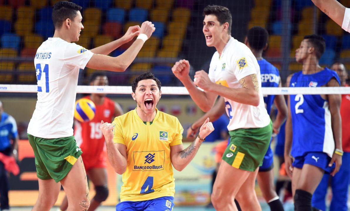 Brazil Beats Cuba, Books Early Semis Tickets – Men's U23 Worlds Day 4