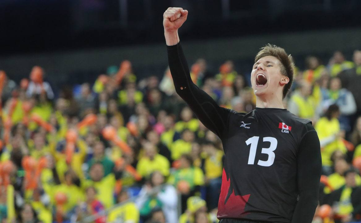 Canadian National Teamer Ryley Barnes Signs With Lube Civitanova