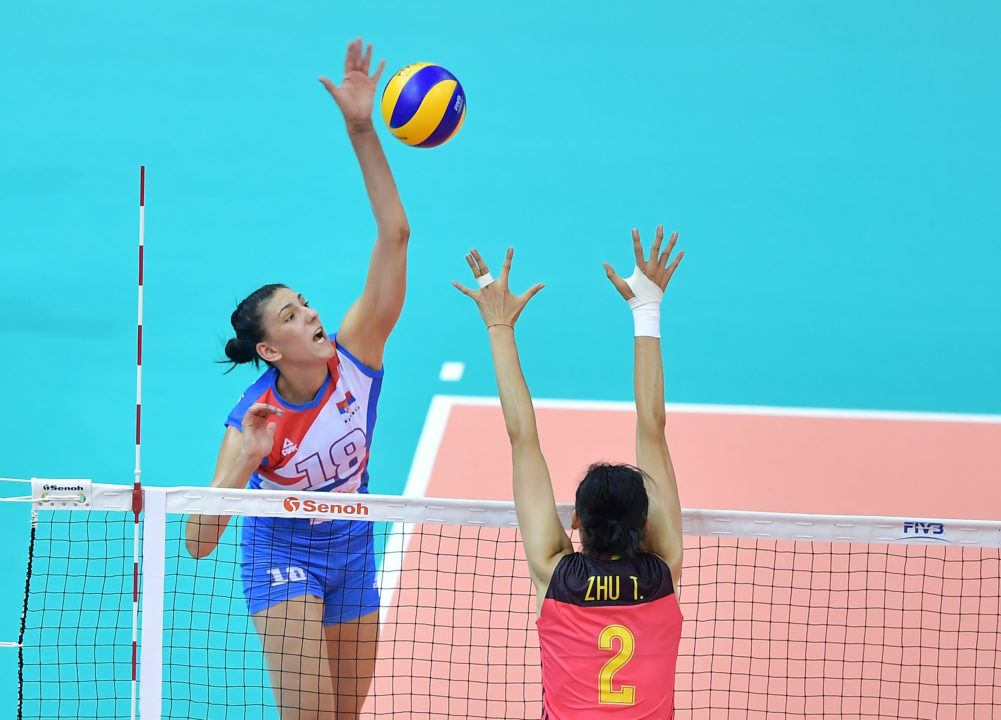 31 Points From Tijana Boskovic Leads Serbia to 3rd Grand Prix Bronze