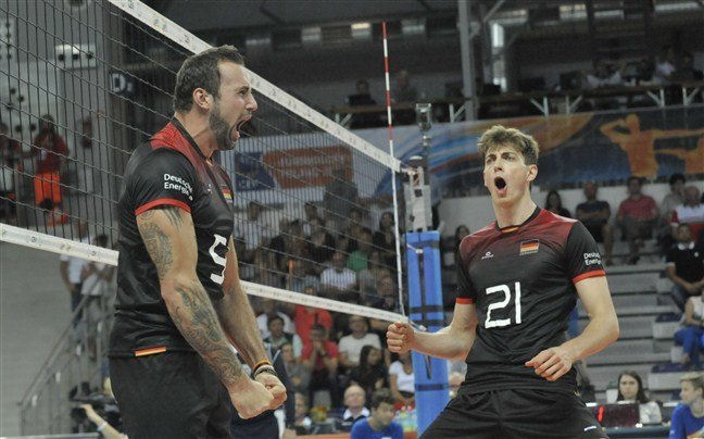 Germany, Belgium Register Five-Set Wins to Open Euro Pool B, D Action