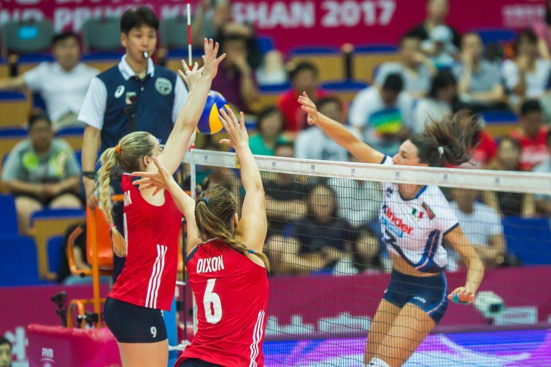 WATCH LIVE: U.S. Women Need Win vs. Italy to Keep Alive Semifinal Hope