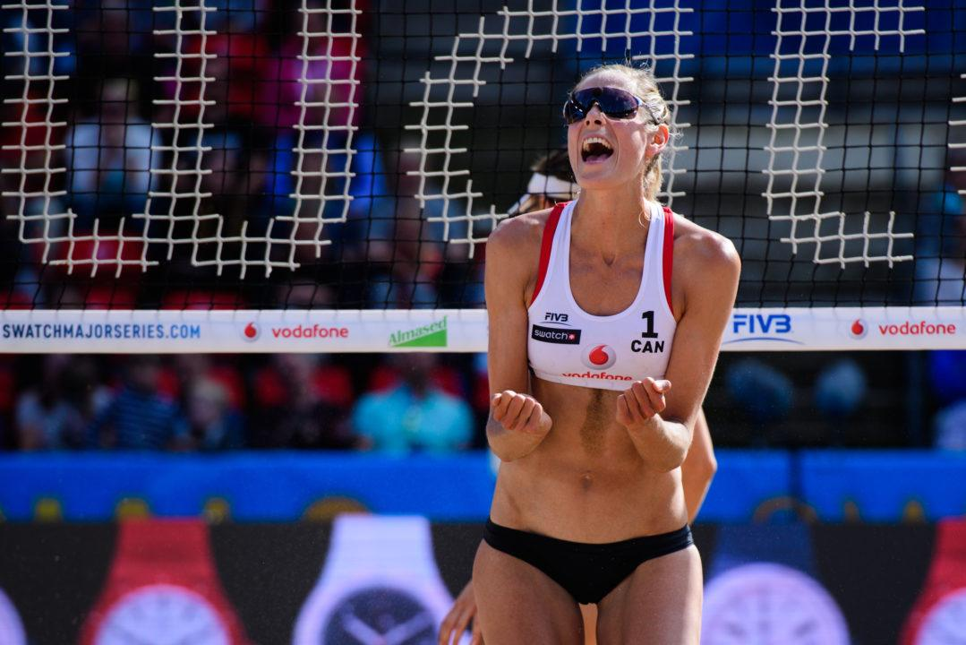 Sarah Pavan Drops Indoor Career To Become Full Time Beach Player