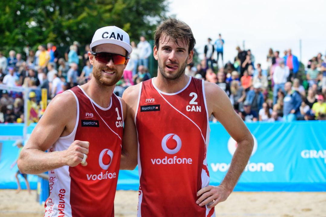 Schalk/Saxton Shock Liamin/Krasilnikov To Advance To Quarterfinals
