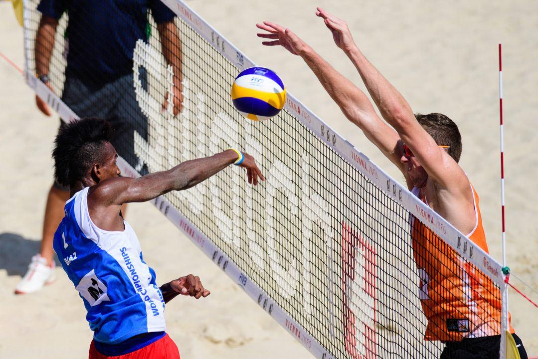 No. 45 Seed Varenhorst/van Varderen Break Into Beach Worlds Quarters