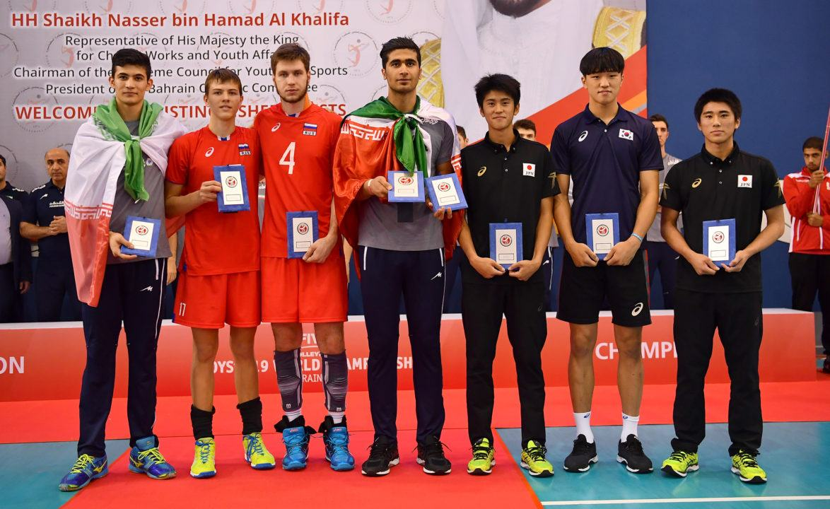 FIVB Reveals Boys' U19 Worlds Dream Team and Stats Leaders