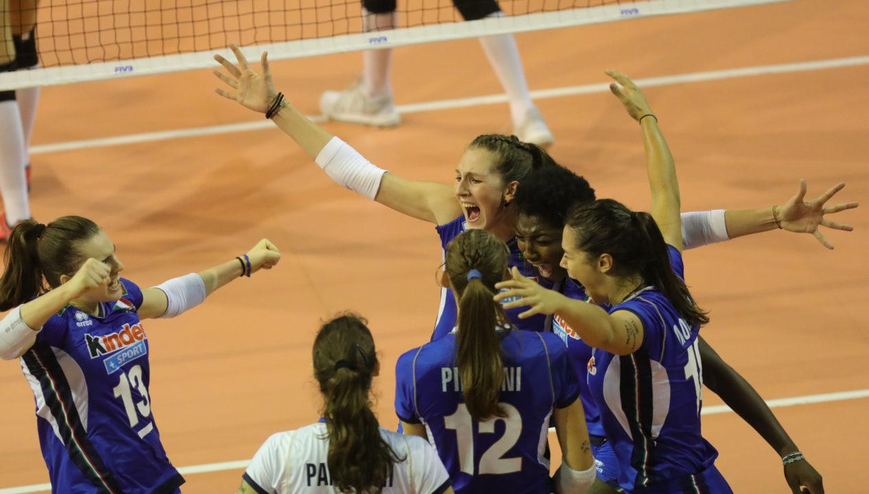 Italy will Defend its Title Against Dominicans. Girls' U18 Worlds.