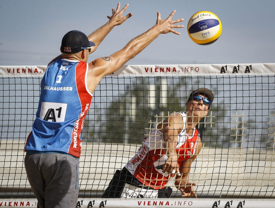 USA's Dalhausser/Lucena Take Pool C With Straight Set Victory