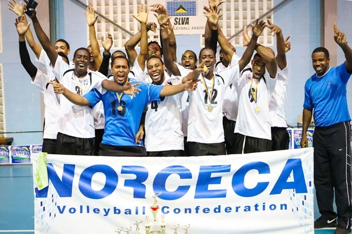 St. Lucia Men Advance to NORCECA Continental Championship