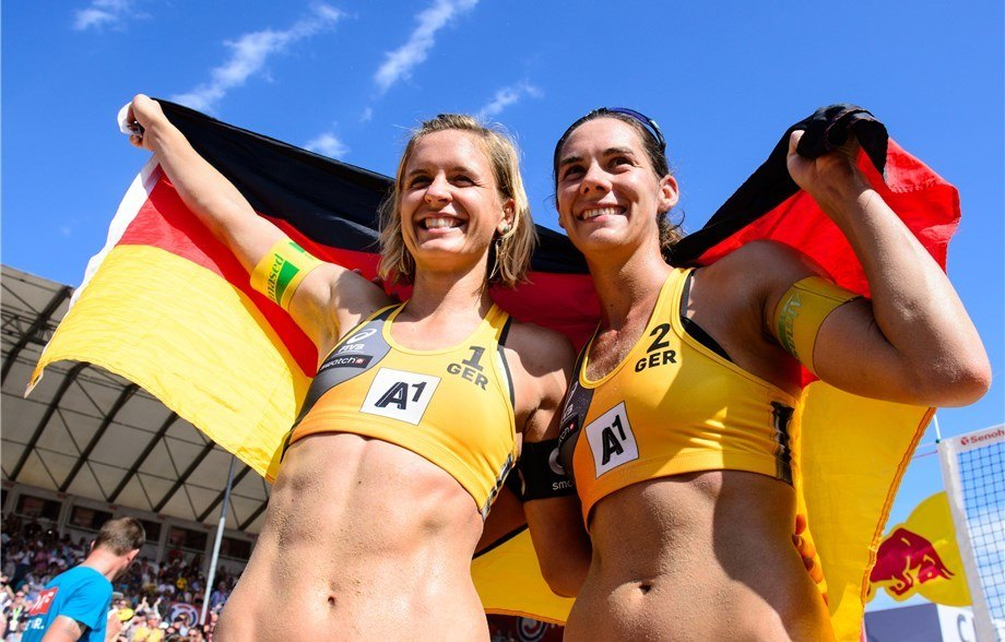 Laura Ludwig, Kira Walkenhorst, Polish Off Beach World Championship