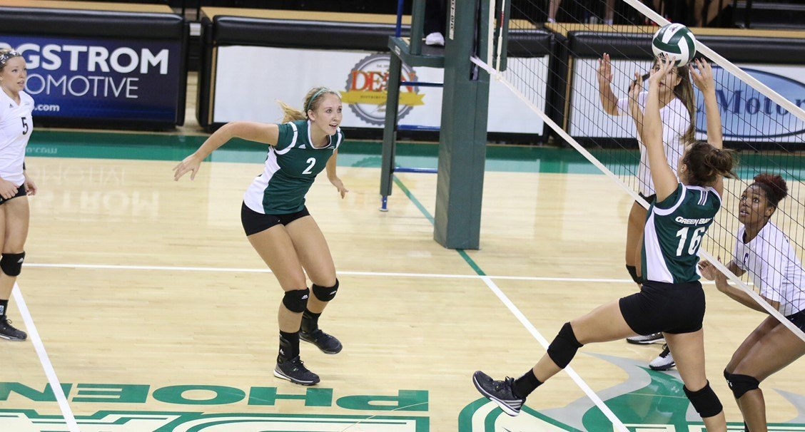 Green Bay Escapes in 5 While Illinois St. Downs IUPUI; NIVC Green Bay Regional (Rnd 1)