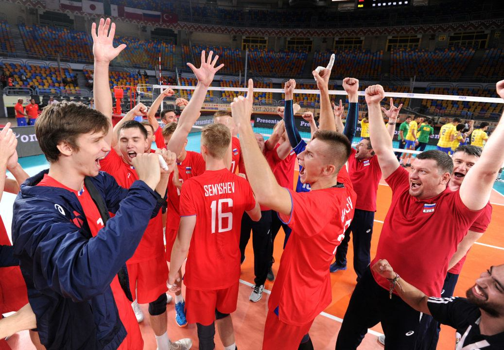 Russia and Argentina Will Face off in the Finals. Men's U23 Worlds
