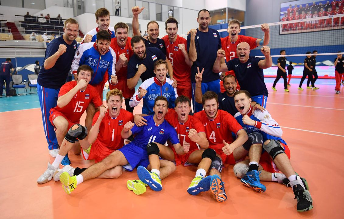 Russia x Iran Will Face Off in the Finals of FIVB's Boys' U19 Worlds