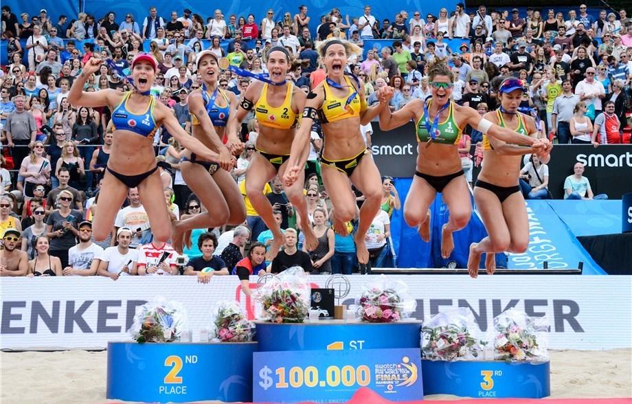 Germany's Ludwig/Walkenhorst Repeat as Swatch Beach World Champions