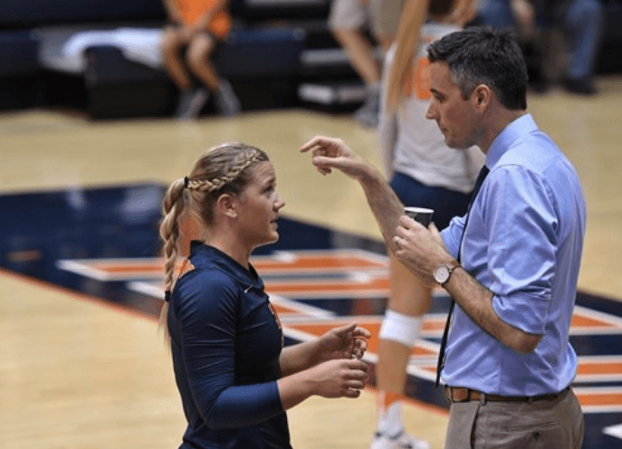 Illinois' Brandi Donnelly Talks of Facing Former Coach in Interview