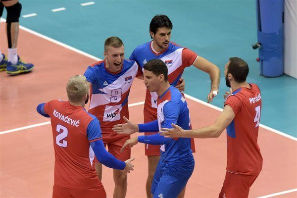 Serbia, Russia Move to Top of Groups A, C with Very Different Results