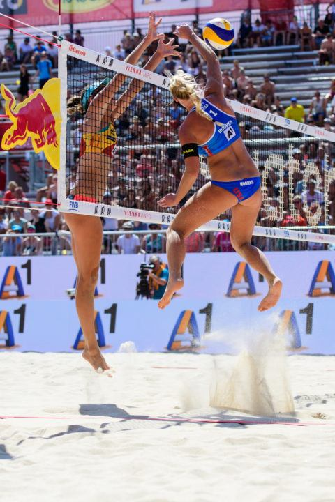 KT Tape Signs Beach Rookie Of The Year Sara Hughes