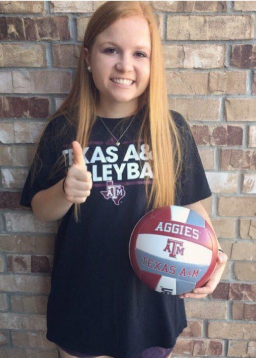 Texas A&M Adds 2018 Recruit Taylor Voss