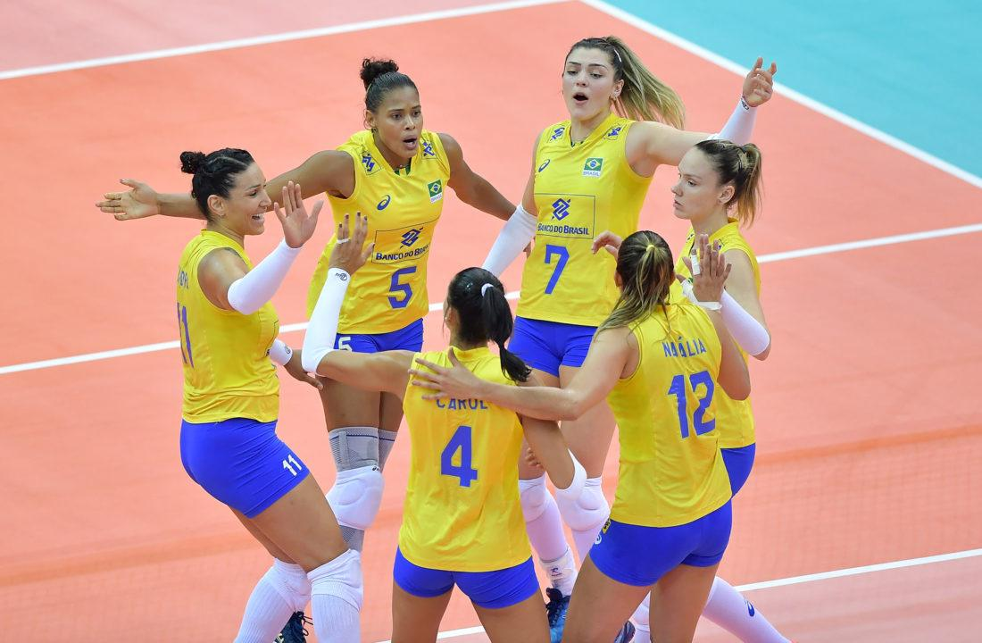 Brazil's Female Roster set for USAV Cup and World Grand Champions Cup