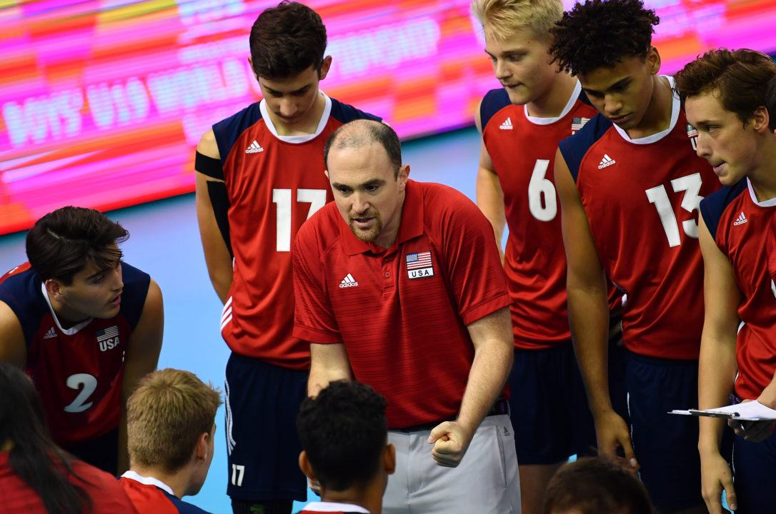 Team USA eliminated by France in Round of 16. Boys' U19 Worlds