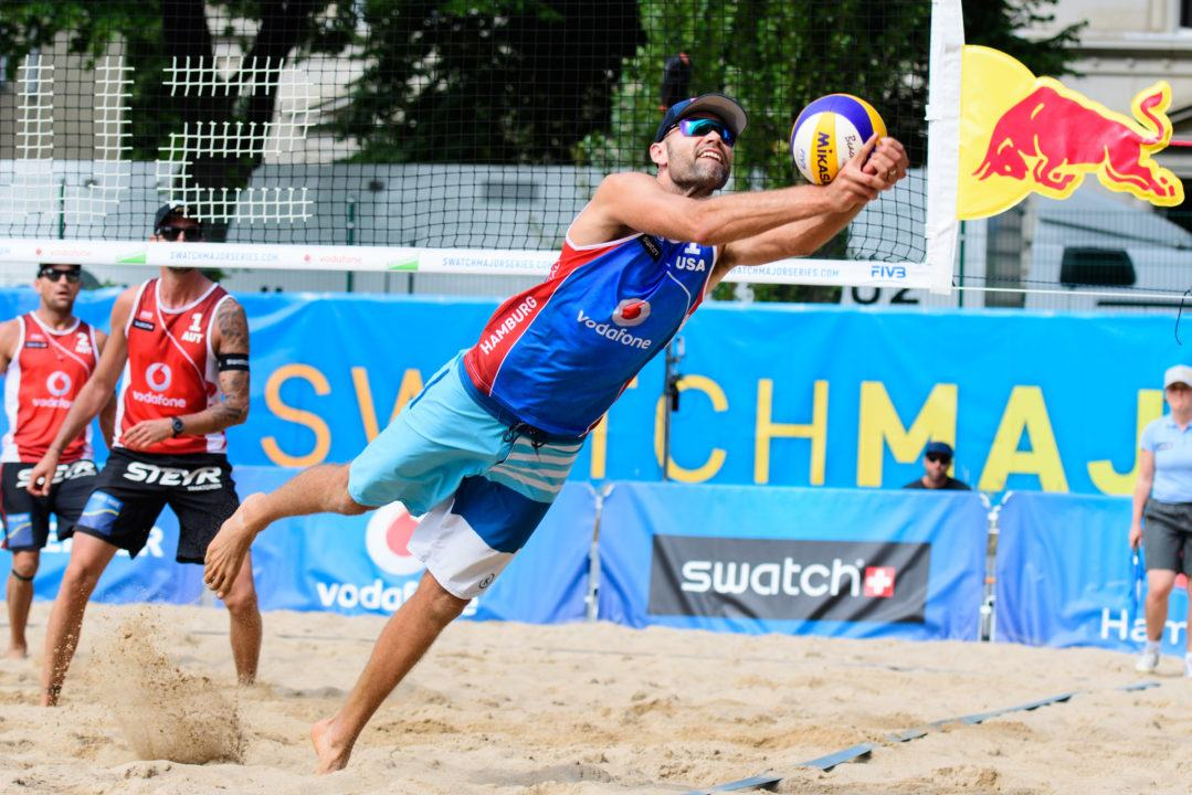Dalhausser/Lucena Have Strong Day One Win At World Tour Finals