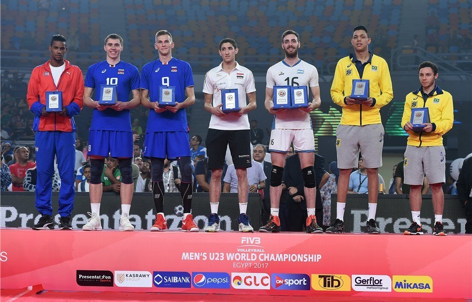 FIVB's Men's U23 World Championships MVP and Dream Team Announced