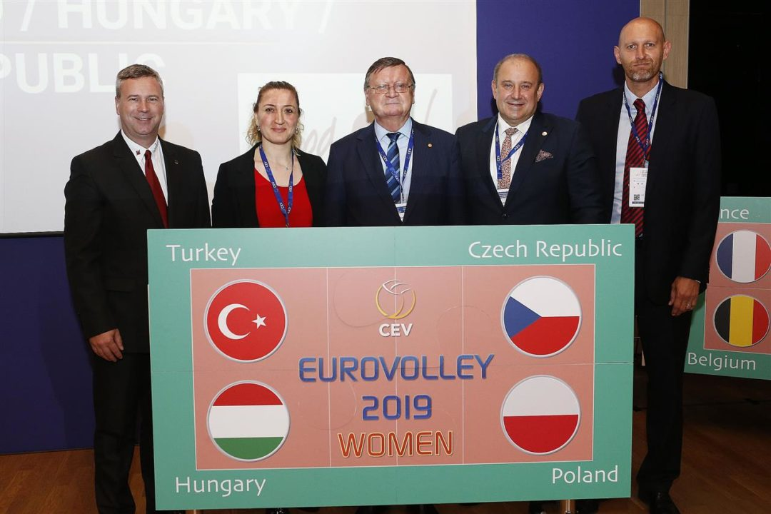 Women's EuroVolley 2019 to be Held in Four Countries