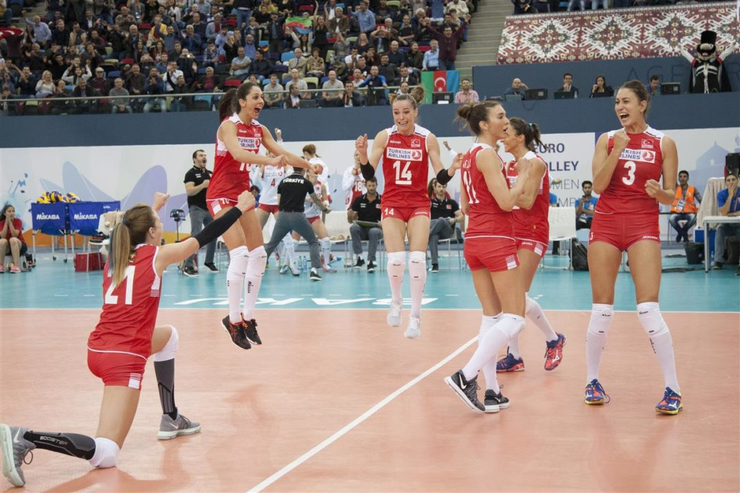 Turkey and Azerbaijan on to Semis. EuroVolley QFs Recap (Highlights)