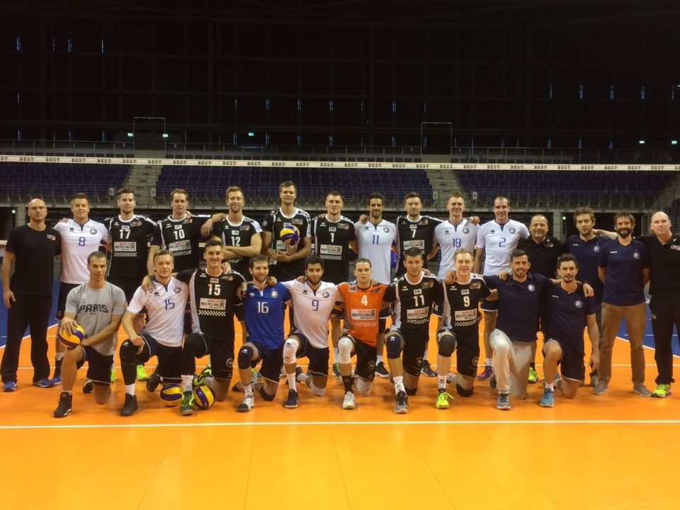 Paris Volley Edges Berlin Recycling in 5-Set Friendly Thriller