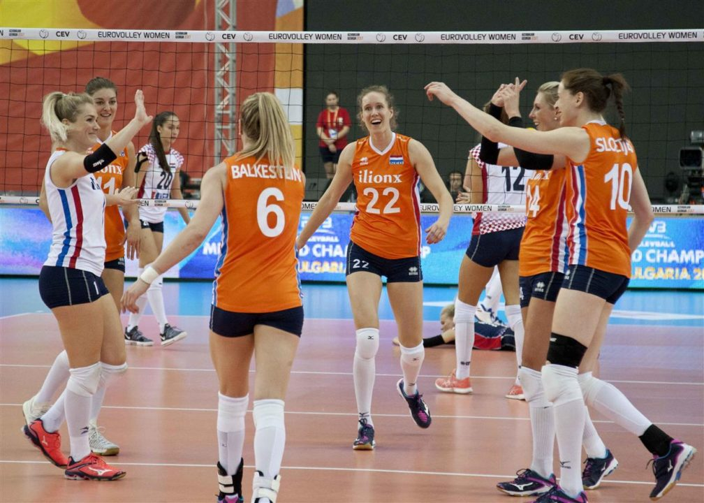 Netherlands and Belarus on to Quarterfinals. EuroVolley Playoffs Recap