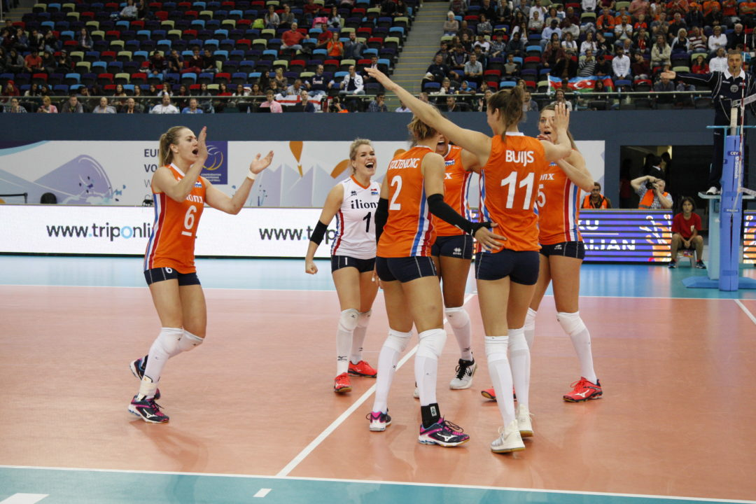 Netherlands and Serbia Easily Advance to Semis. EuroVolley QFs Recap