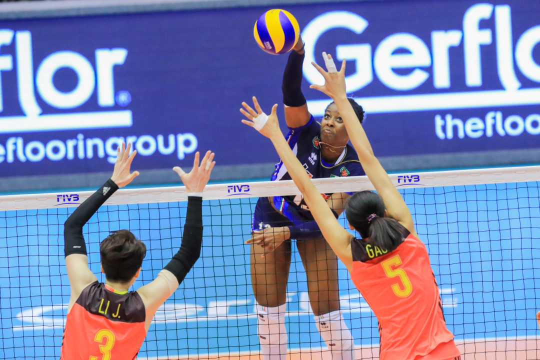 Italian Miriam Sylla Fails 2017 FIVB Grand Prix Doping Test