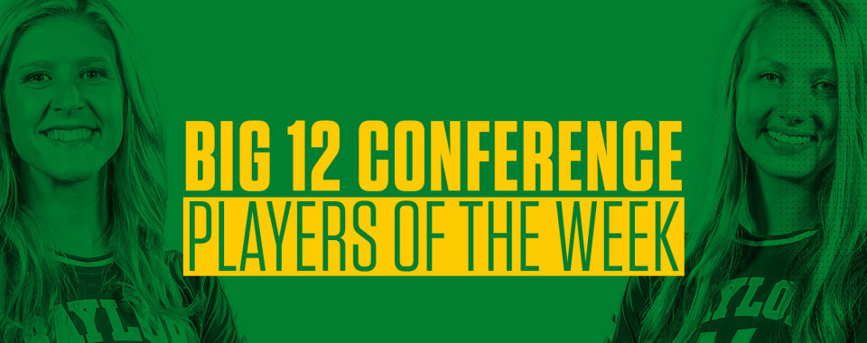 Baylor's Staiger, Lockin Named Big 12 Players of the Week