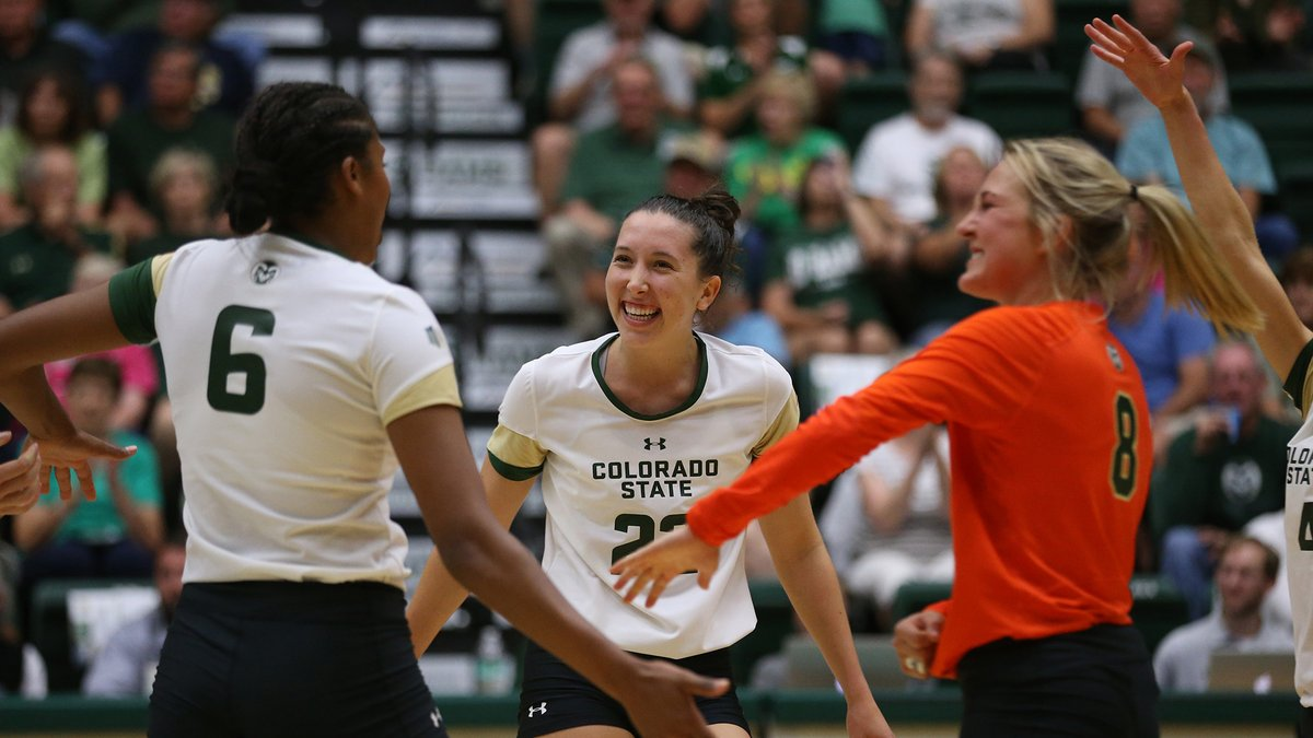 #20 Colorado State Sweeps #17 Michigan With Offensive Showing