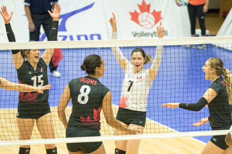 Cuba, Canada Crush Foes on Day 1 at NORCECA Group B Qualifier