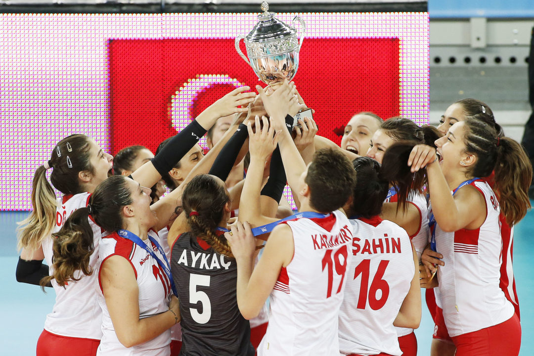 Turkey Wins FIVB Women's U23 World Championship (Videos)
