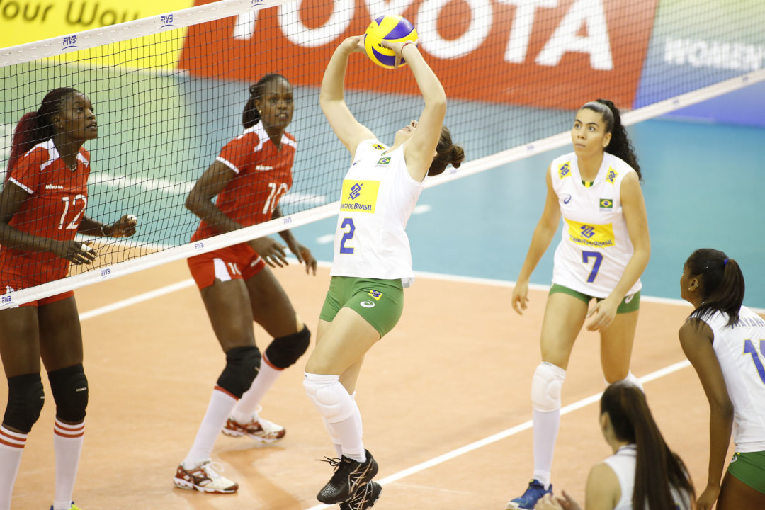 Teams Get First Glimpse Of FIVB's New Rules.  Women's U23 Worlds Day 1