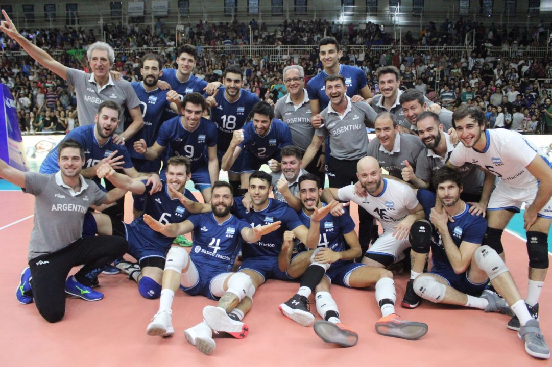 Argentina Sweeps Venezuela For Ticket To 2018 World Championships