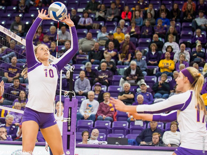 Two #25 UNI Panthers Pass Career Milestones In Sweep Of Indiana State