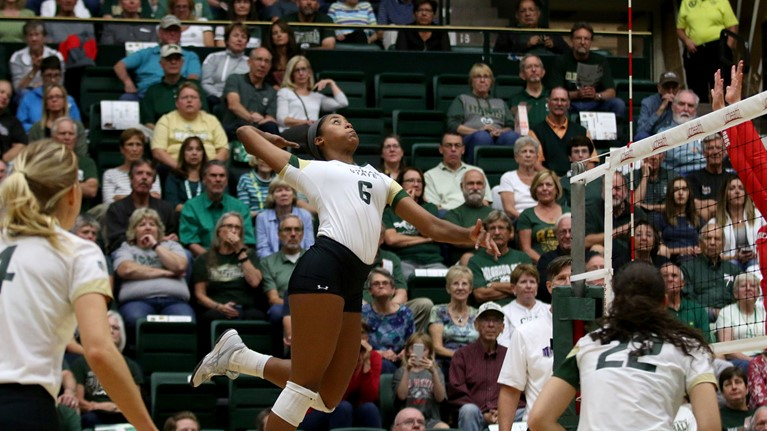 #21 Colorado State Wins 12th Straight In Sweep Of Air Force