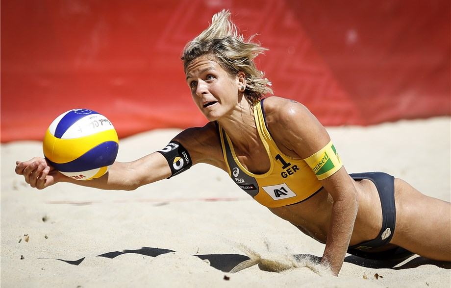 Germany's Laura Ludwig Repeats as FIVB Most Outstanding Player