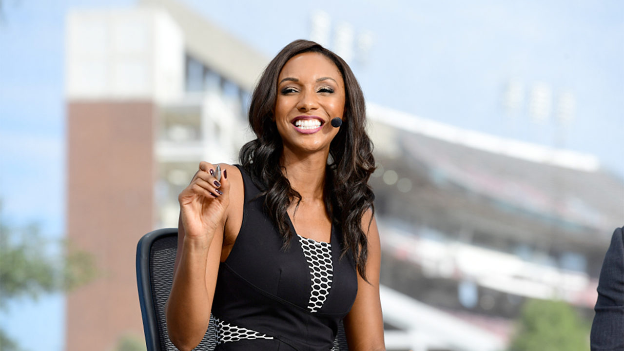 Former UGA Volleyball Star Maria Taylor Joins ESPN's College GameDay
