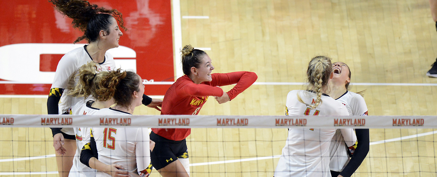 Maryland Terps Continue to Roll with Straight-Set Upset of #15 USC