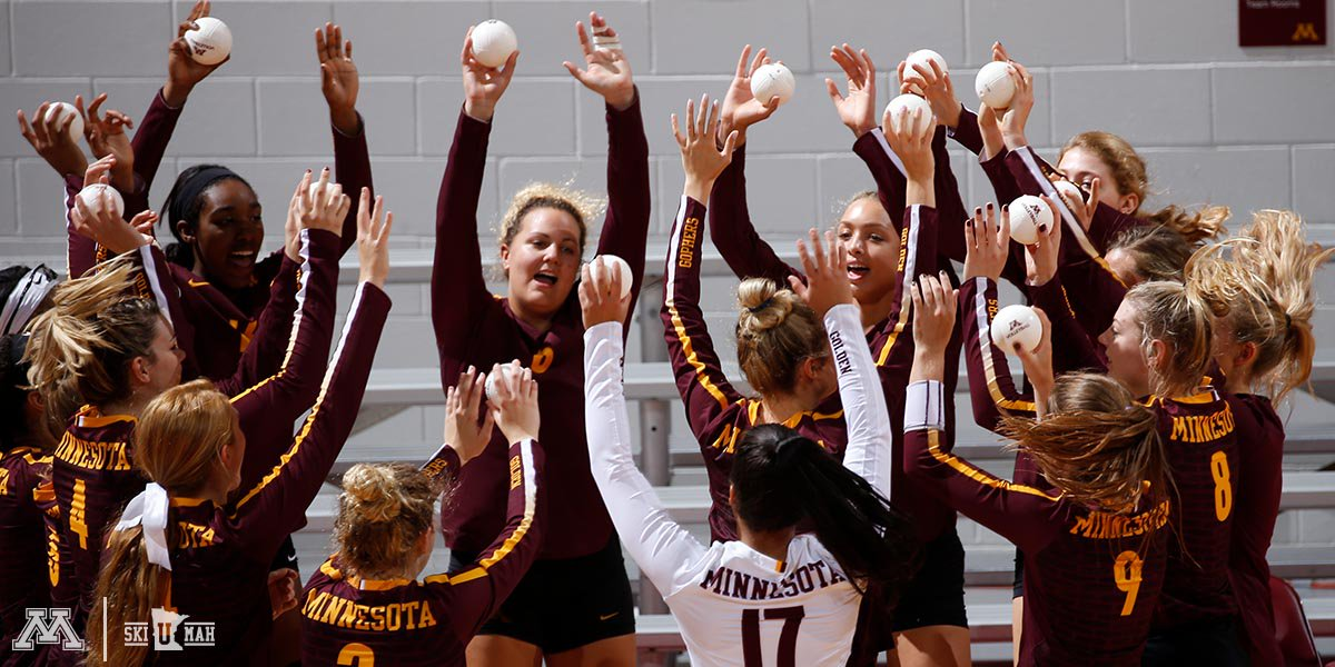 Samedy Pounds Down 22 Kills to Lift #3 Gophers over #4 Texas